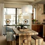 Reclaimed Wood Dining Table Ideas - 600 x 799