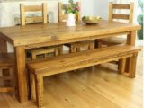 Reclaimed Wood Dining Table Ideas   607 x 601
