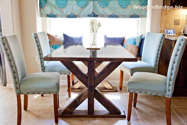 Reclaimed Wood Dining Table Ideas - 640 x 426