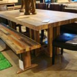 Reclaimed Wood Dining Table Ideas - 640 x 436
