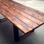 Reclaimed Wood Dining Table Ideas - 640 x 446