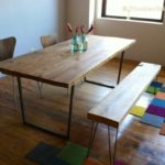Reclaimed Wood Dining Table Ideas - 640 x 478
