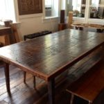 Reclaimed Wood Dining Table Ideas - 640 x 480