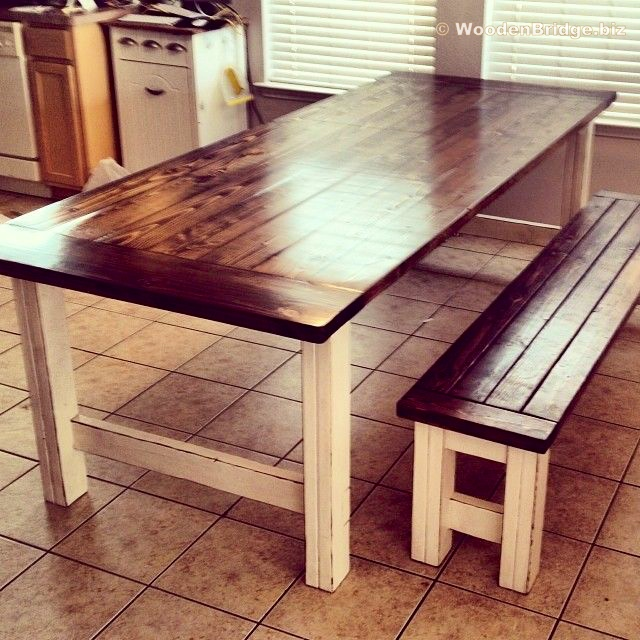 Reclaimed Wood Dining Table Ideas - 640 x 640