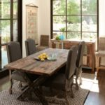Reclaimed Wood Dining Table Ideas - 661 x 754
