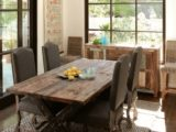Reclaimed Wood Dining Table Ideas – 661 x 754