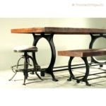 Reclaimed Wood Dining Table Ideas - 720 x 720 1