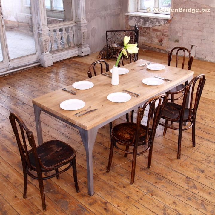 Reclaimed Wood Dining Table Ideas - 720 x 720