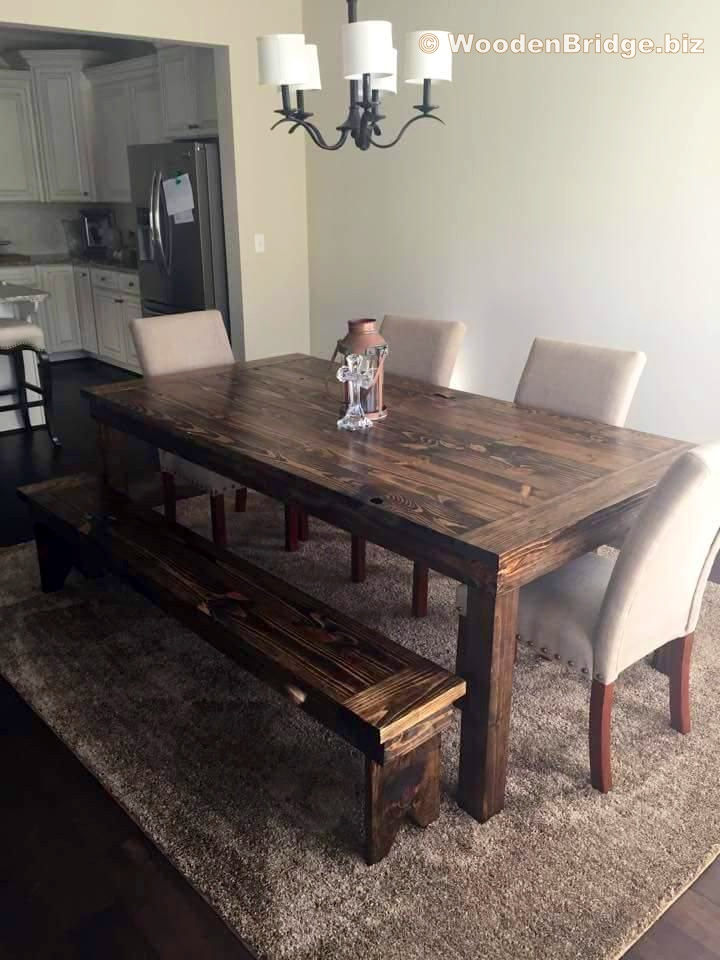 Reclaimed Wood Dining Table Ideas - 720 x 960