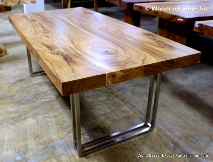 Reclaimed Wood Dining Table Ideas - 736 x 560