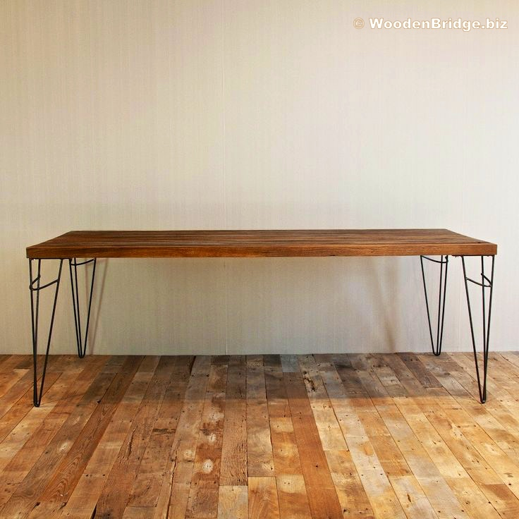 Reclaimed Wood Dining Table Ideas - 736 x 736 2