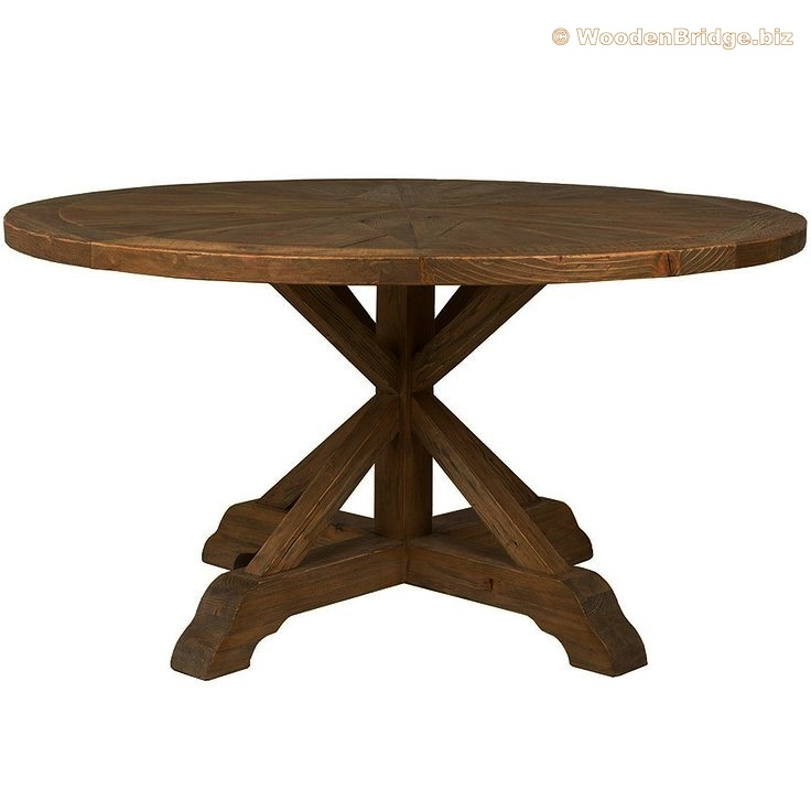 Reclaimed Wood Dining Table Ideas - 736 x 736