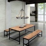 Reclaimed Wood Dining Table Ideas - 736 x 987