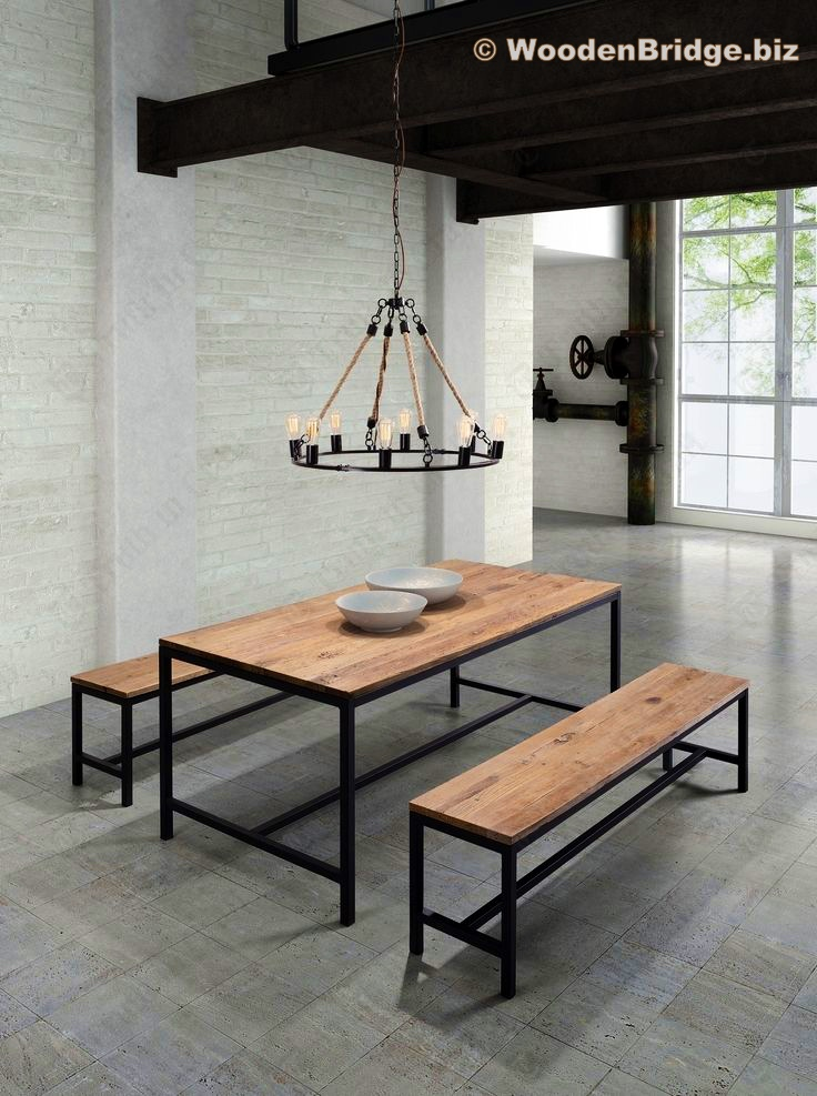 Reclaimed Wood Dining Table Ideas – 736 x 987