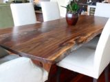 Reclaimed Wood Dining Table Ideas – 736 x 997