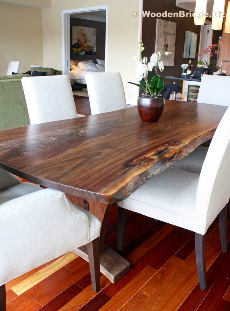 Reclaimed Wood Dining Table Ideas - 736 x 997