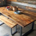 Reclaimed Wood Dining Table Ideas - 750 x 563