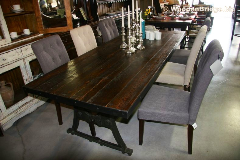 Reclaimed Wood Dining Table Ideas - 789 x 526