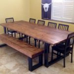Reclaimed Wood Dining Table Ideas - 805 x 754