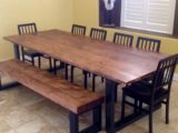 Reclaimed Wood Dining Table Ideas – 805 x 754
