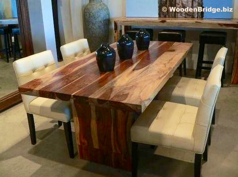 Reclaimed Wood Dining Table Ideas - 808 x 601