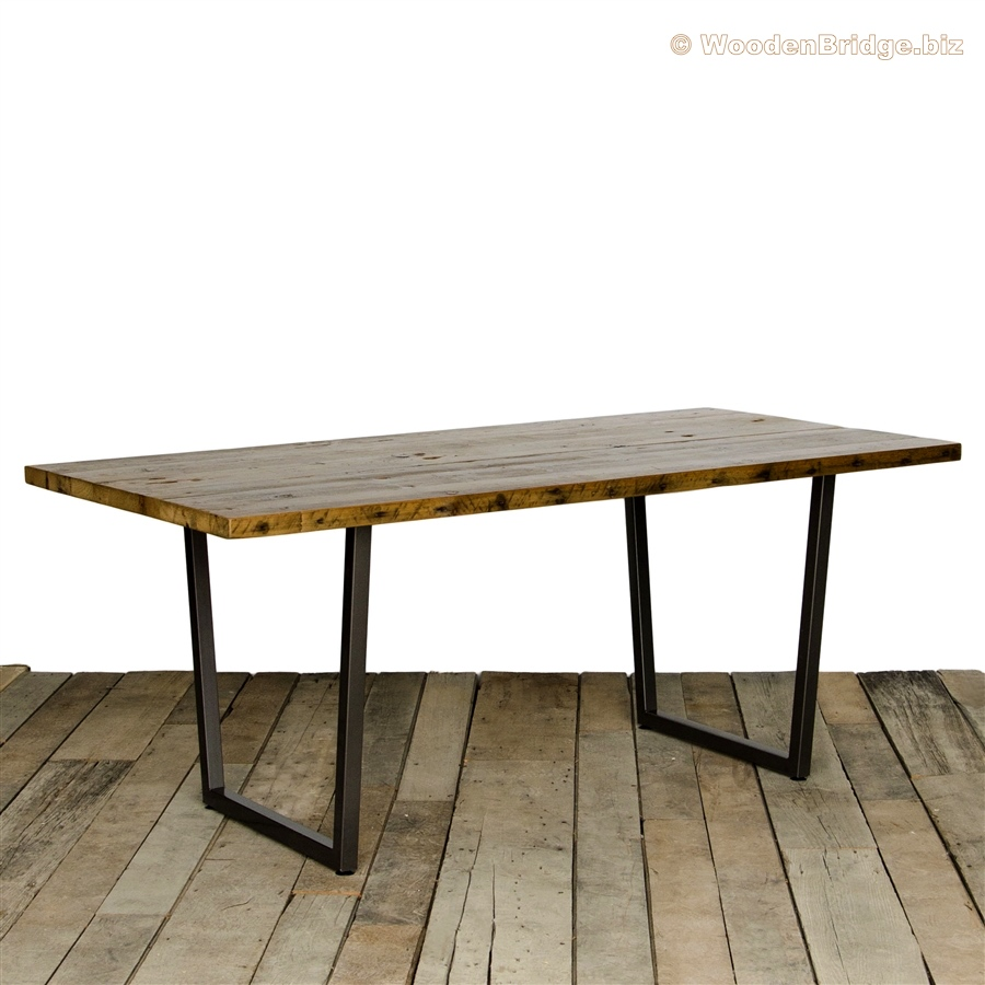 Reclaimed Wood Dining Table Ideas - 900 x 900