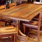 Reclaimed Wood Dining Table Ideas - 915 x 576