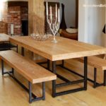 Reclaimed Wood Dining Table Ideas - 915 x 686