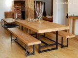 Reclaimed Wood Dining Table Ideas – 915 x 686