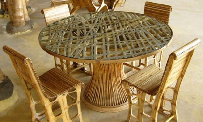 Bamboo Furniture Chairs Table Designs Philippines