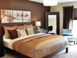 chocolate brown bedroom ideas