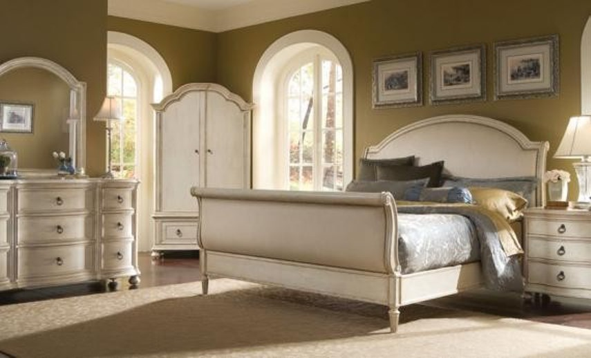 distressed white bedroom furniture set