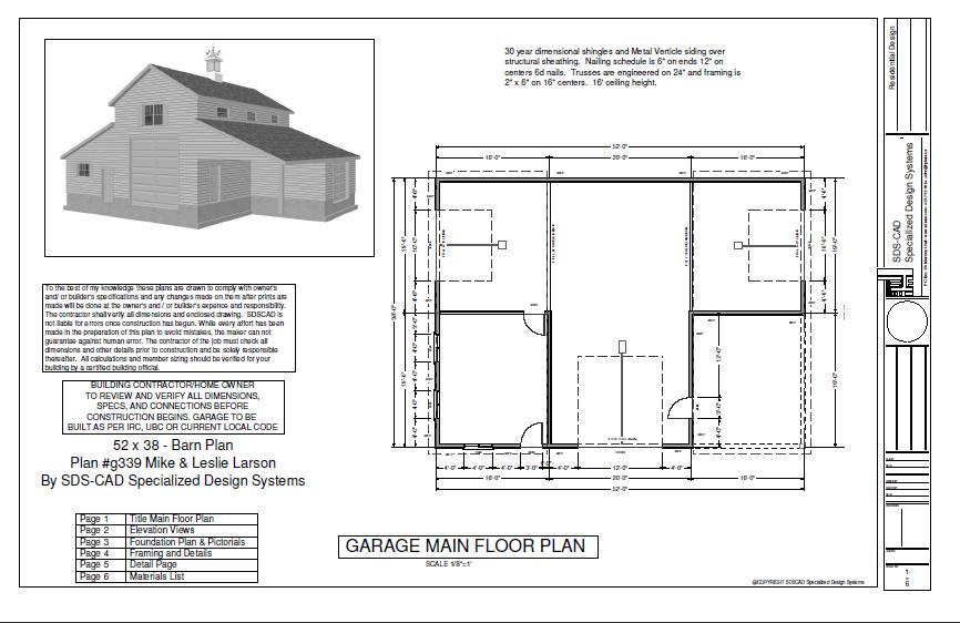 Pole barn house plans at for Pole barn home floor plans