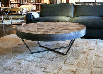 Reclaimed Wood Coffee Tables Ideas - 440 x 315