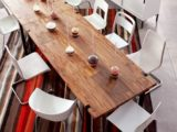 Reclaimed Wood Dining Table Ideas 395 x 395