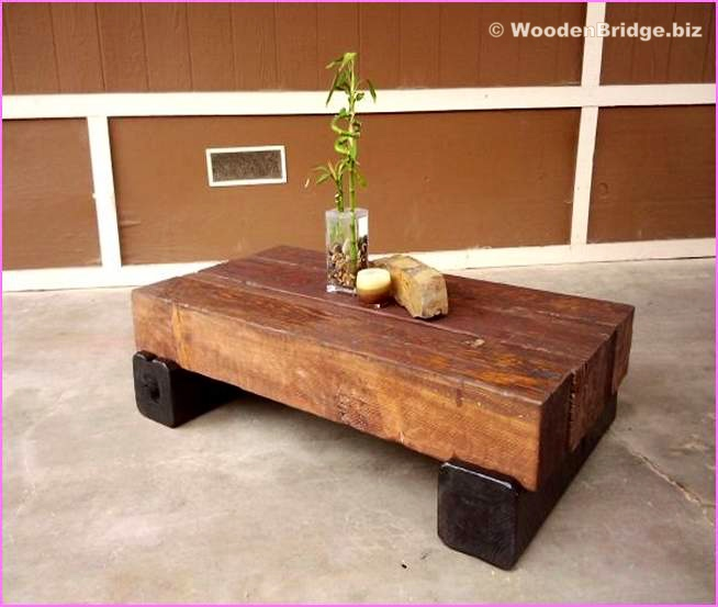 Reclaimed Wood Coffee Tables Ideas - 654 x 553