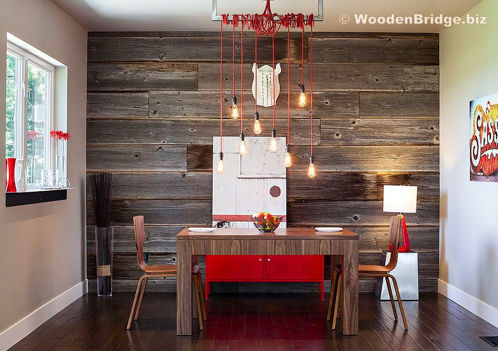 Reclaimed Wood Dining Table Ideas - 1000 x 705