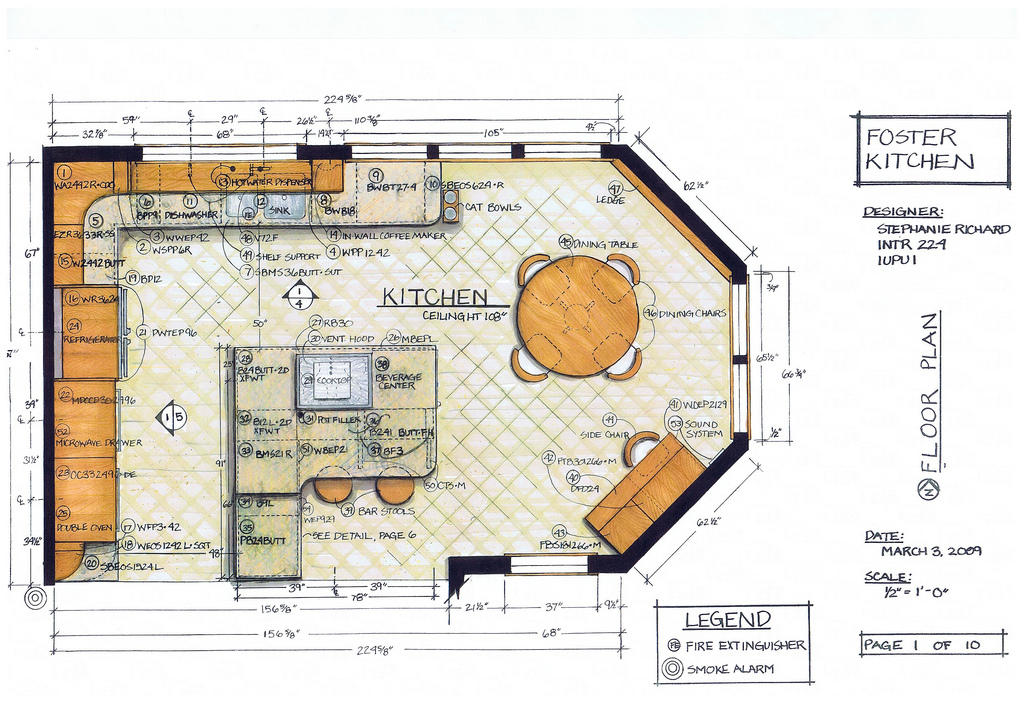 Amazing Kitchen Design Drawing 47 For Your Interior Design For Home Remodeling with Kitchen Design Drawing