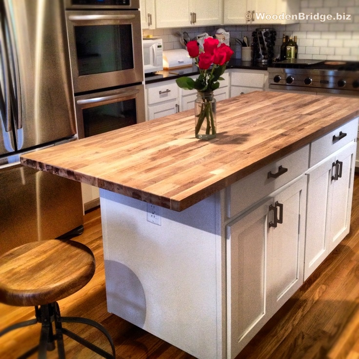 Modern Butcher Block Kitchen Island Ideas - 736 x736 1