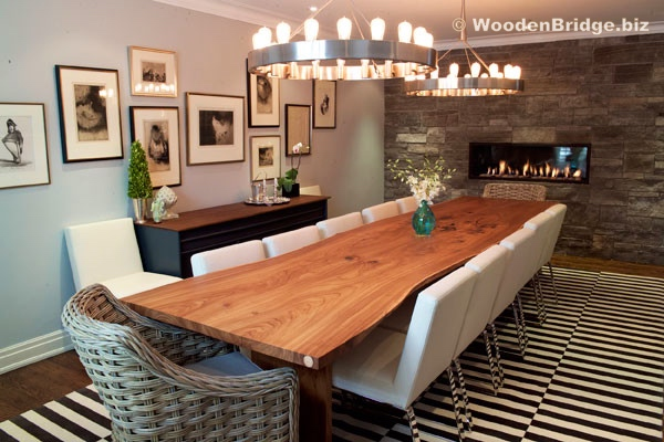 Reclaimed Wood Dining Table Ideas - 600 x 400