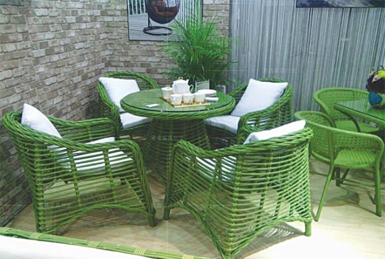 great painted bamboo furniture ideas design