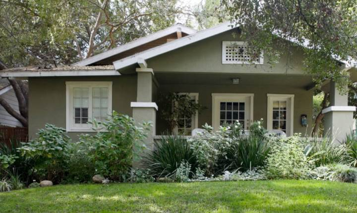 popular -green exterior house paint colors