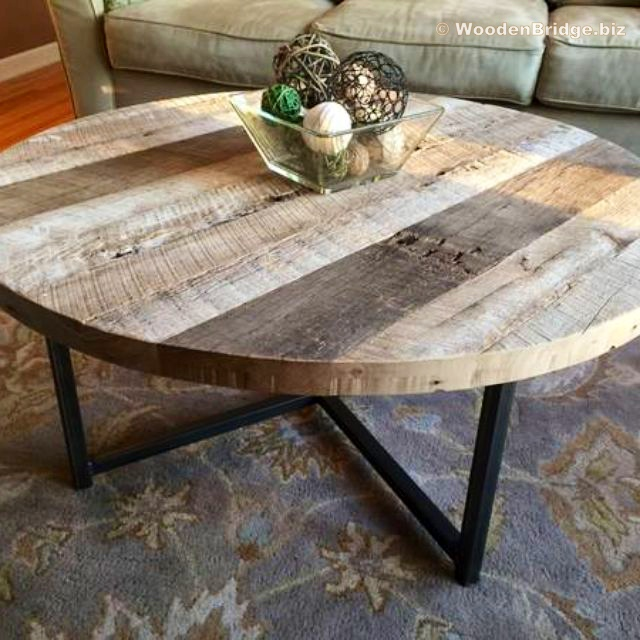 Reclaimed Wood Coffee Tables Ideas - 640 x 640